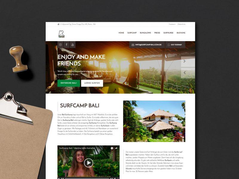 Webdesign Kamafari