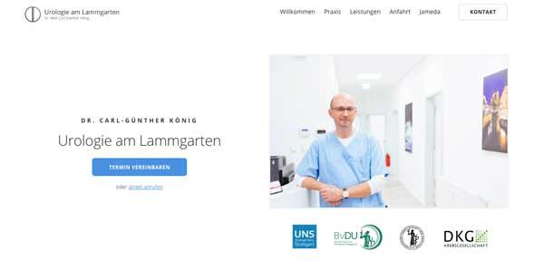 Arzt-Webdesign