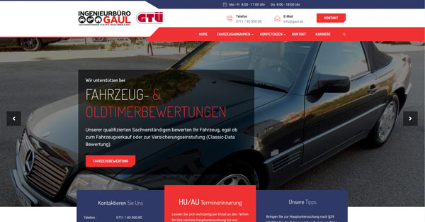 Webdesign-KFZ-Werkstatt