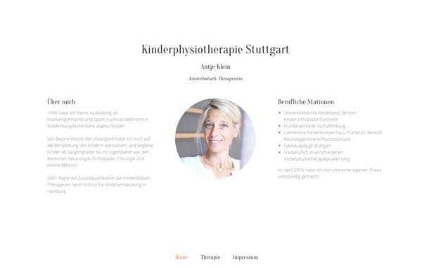 physiotherapie-webdesign